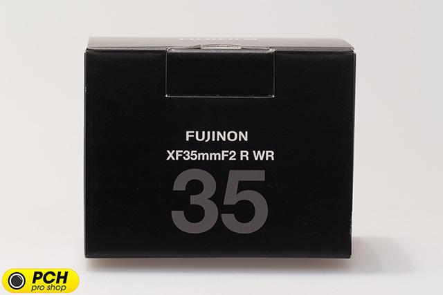 富士フイルム「XF35mmF2 R WR」