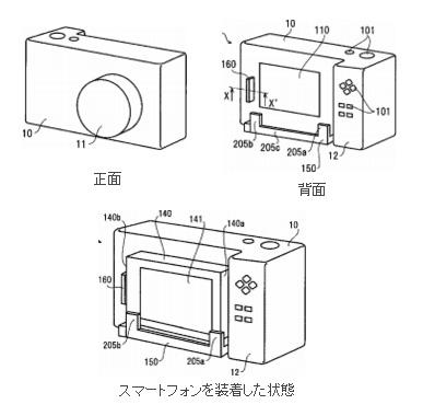 リコーがスマホを合体可能なカメラを開発中!?