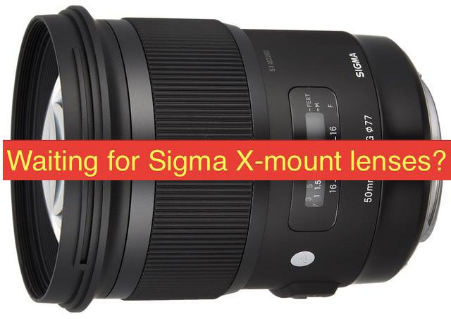 シグマはXマウント用レンズを開発しない!?