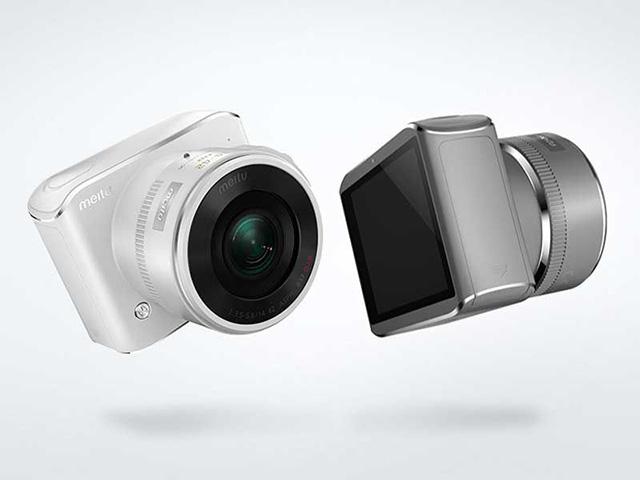 Meitu マイクロフォーサーズ機「BF1」&化粧品のようなリモートカメラ「Snap1」を発表