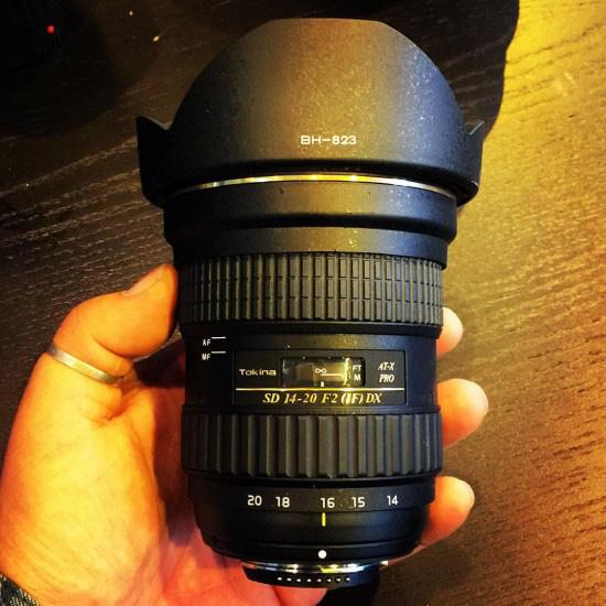 トキナーのAPS-C用新レンズ 「SD 14-20mm f/2 IF DX」