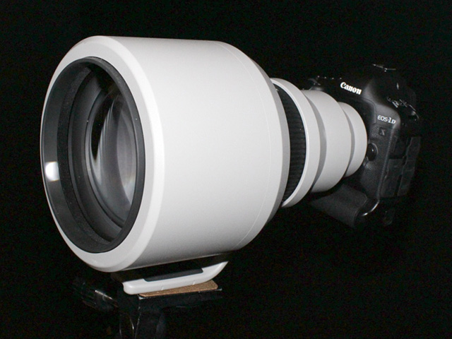 30%短い600mmF4L「EF600mm F4L IS DO BR USM」