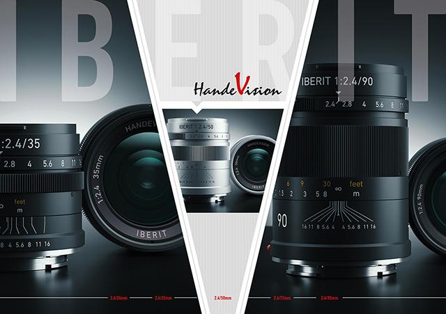 HandeVision ミラーレス用レンズシリーズ「IBERIT(イベリット)」