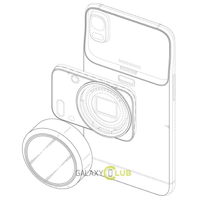 Samsungが、リコーGXRのようなカメラモジュール交換式スマートフォンを開発中!?