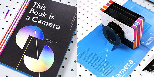 飛び出す絵本型カメラ「This Book is a Camera」