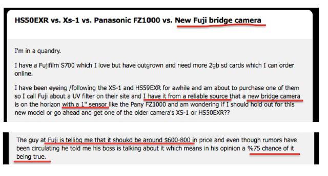 富士フイルムが、FZ1000のような1インチセンサーのネオ一眼を開発中!?X-S2!?