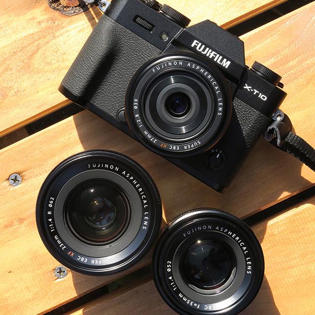 富士フイルム XF23mmF1.4 R vs XF27mmF2.8 vs XF35mmF1.4 R!
