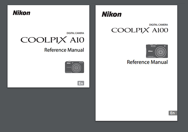 ニコンCOOLPIX A10 & A100