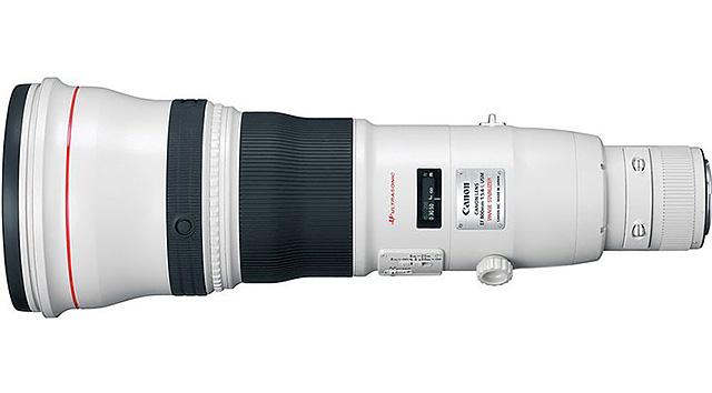 キヤノンが「EF200-400mm F4L IS USM エクステンダー 1.4×」のような、テレコン内蔵の800mmを開発中!?