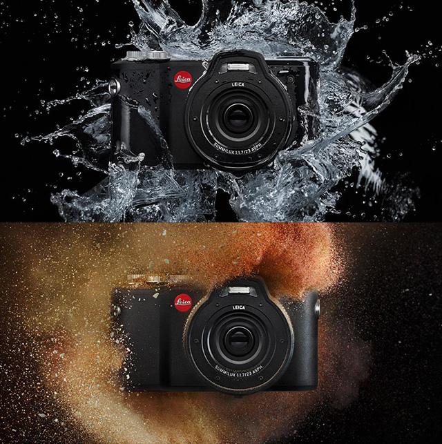 防水・耐衝撃APS-Cタフネスカメラ「ライカX-U」