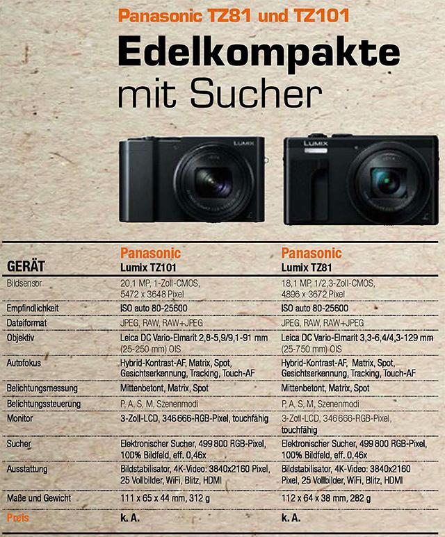 Panasonic LUMIX TZ100(TZ101)&LUMIX TZ80(TZ81)