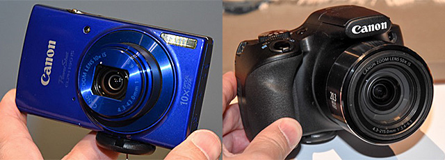 キヤノン 新PowerShot「SX540 HS」、「SX420 IS」、「ELPH 360 HS」、「ELPH 190 IS」、「ELPH 180」発表。コンパクトフォトプリンター「SELPHY CP1200」も。