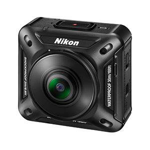 ニコン初アクションカメラ「KeyMission 360」