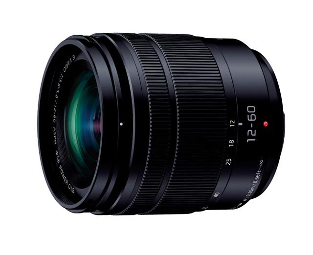 パナソニック「LUMIX G VARIO 12-60mm / F3.5-5.6 ASPH. / POWER O.I.S.(H-FS12060)」