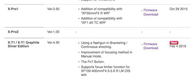 富士フイルムがX-Pro2の「リセット問題」修正用のファームウェアアップデートをリリースする!?