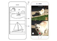 iPhone 7のデュアルカメラは、広角レンズと望遠レンズで同時撮影が可能!?