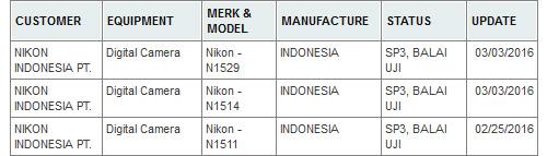 ニコンが海外認証機関にコンデジ3機種を登録している模様。