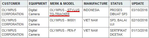 オリンパス STYLUS TG-TRACKER