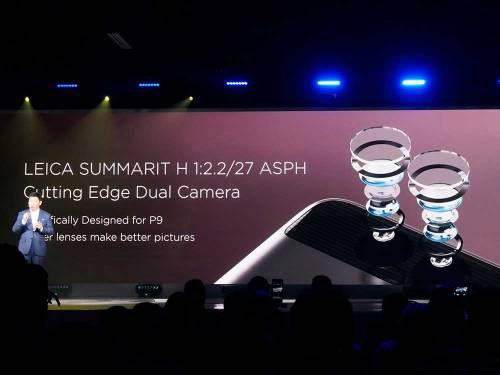 ライカ製レンズ搭載「Huawei P9」