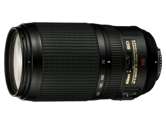 ニコン AF-S VR Zoom-Nikkor 70-300mm f/4.5-5.6G IF-ED 後継レンズ