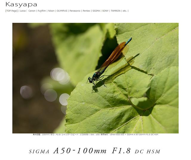 SIGMA 50-100mm F1.8 DC HSM|Art