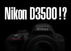 ニコン D3500(D3400)