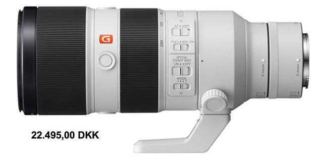 ソニー「FE 70-200mm F2.8 GM OSS」価格