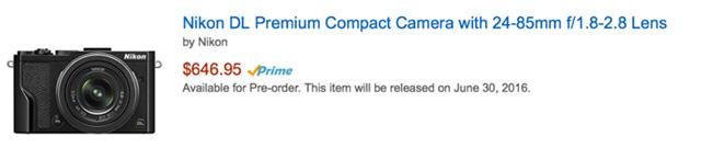 ニコンDLシリーズの発売は9月後半か10月初旬!?6月にソニーからEマウントやRXシリーズの発表はない!?オリンパスE-PL8の発表は夏の終わりになる!?