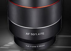 SAMYANG「AF50mm F1.4 FE」