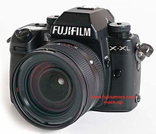 富士フイルムの中判カメラはデジタル一眼レフのようなデザインになる!?