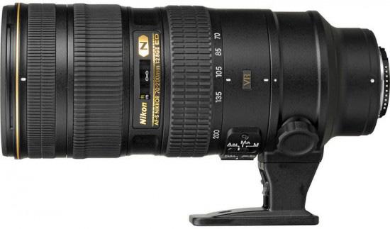 ニコン AF-S NIKKOR 70-200mm f/2.8G ED VR II