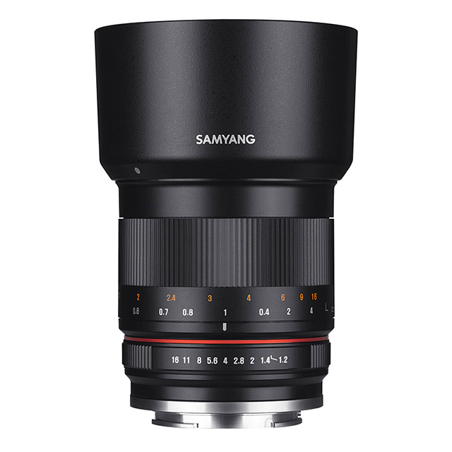 「SAMYANG 50mm F1.2 AS UMC CS」7