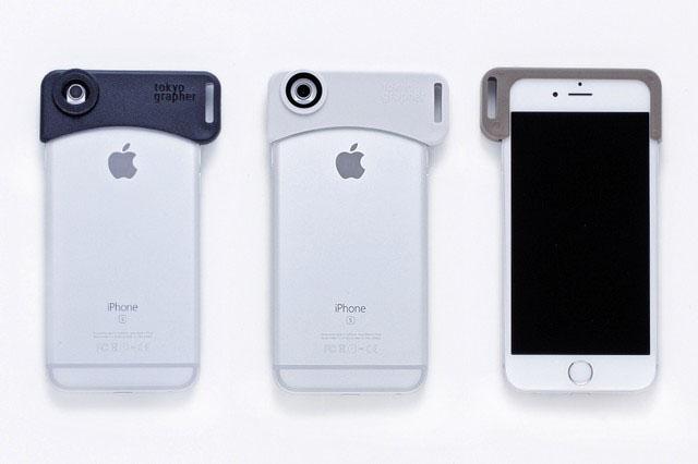 iPhone6/6s用ゼロディストーション広角レンズtokyo grapehr「Zero-Distortion Wide Lens」