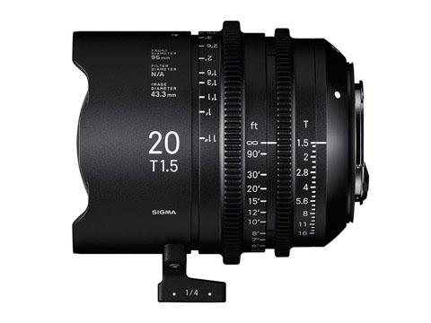 20mm T1.5 FF