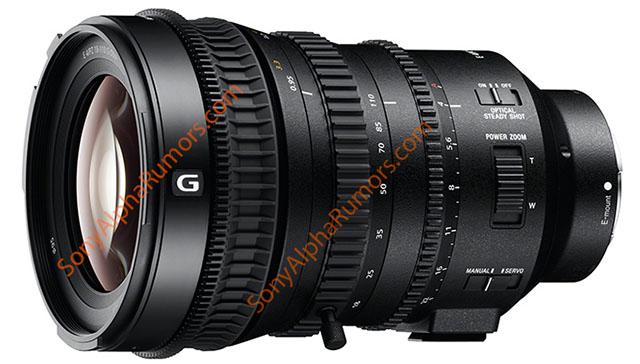 ソニー「E PZ 18-110mm F4 G OSS」