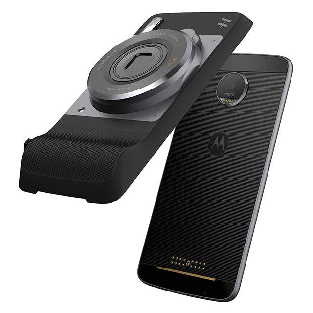 Androidスマホ「Moto Z」用カメラユニット「ハッセルブラッドTRUEZOOM」