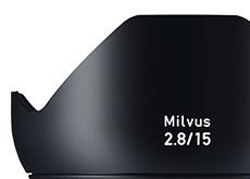 ツァイスのMilvus 2.8/15M、Milvus 2.8/18M、Milvus 2.0/135Mのリーク画像。