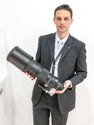 「85mm F1.4 DG HSM   Art」、「12-24mm F4 DG HSM   Art」、「500mm F4 DG OS HSM   Sports」