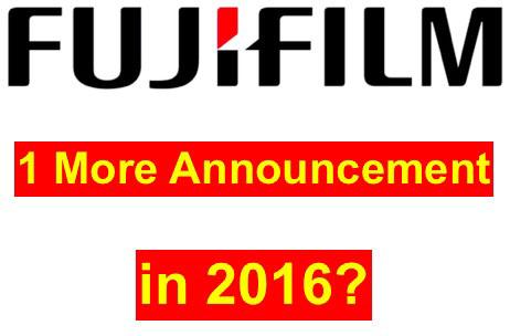 富士フイルムが2016年中にもう一つ新製品を発表する!?