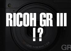 リコー GR III,