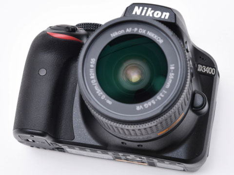 ニコンD3400