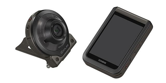 1/2.8型CMOSでISO51200を達成した、カシオの合体分離カメラ「Outdoor Recorder EX-FR110H」