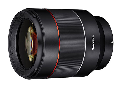 SAMYANG「AF50mm F1.4 FE」が国内発売