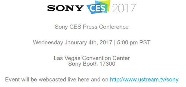 ソニーがCESで記者会見を行う模様。でも、大きな新商品発表は期待できない!?