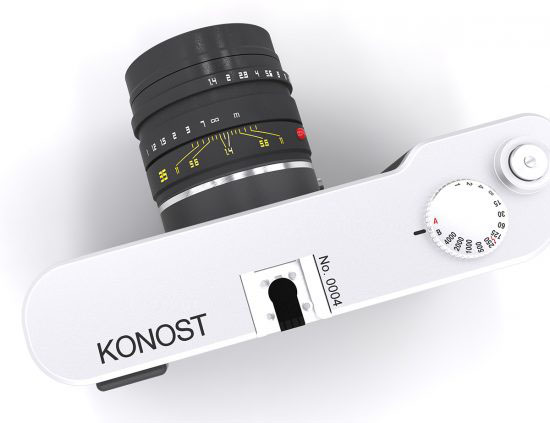 真のデジタルレンジファインダー「KonostFF」の公式サイトが更新された模様。