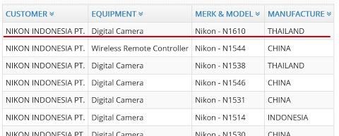ニコンの未発表カメラが海外認証機関に登録された模様。新型一眼レフ!?もしくはNikon 1 J6!?