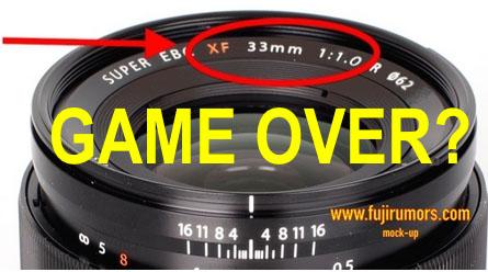 富士フイルム「XF33mmF1.0 R」