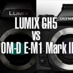 LUMIX GH5 vs OM-D E-M1 Mark II!マイクロフォーサーズフラッグシップ機の高感度画質対決。