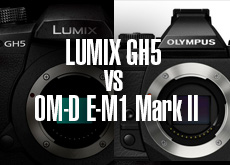 LUMIX GH5 vs OM-D E-M1 Mark II!