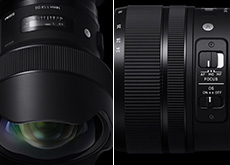 シグマ「135mm F1.8 DG HSM | Art」「14mm F1.8 DG HSM | Art」「24-70mm F2.8 DG OS HSM | Art」「100-400mm F5-6.3 DG OS HSM | Contemporary」